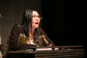 Heidi Kobara as Aiko Herzig-Yoshinaga in TURNING THE PAGE, photo: Cheshire Isaacs