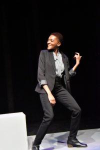 Jasmine Williams as Adrian. Photo: Jay Yamada