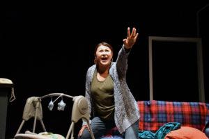 Michelle Navarette as Pilar. Photo: Jay Yamada